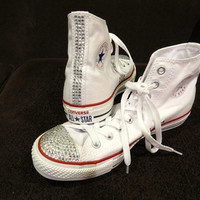 Bedazzled Rhinestone Converse (more colors available)