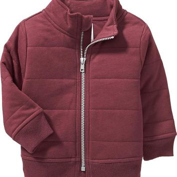 Old Navy Jersey Bomber Jacket For Baby