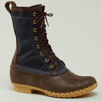 Signature Women's Waxed-Canvas Maine Hunting Shoe, 10 and quot; | Free Shipping at L.L.Bean