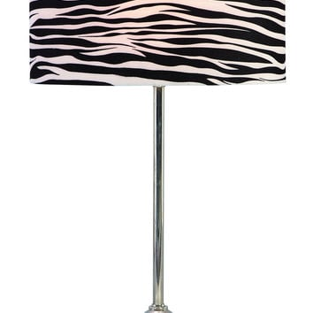 Metal Table Lamp 25 Inches High Looks Like A Decorative Sculpture