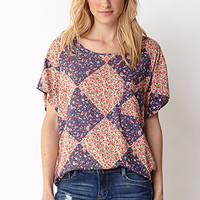 In Bloom Cutout Top