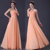 Women Strapless Evening Formal Ball Prom Gowns Wedding Long Dress Cocktail dress