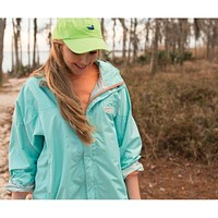 FieldTec Rain Jacket in Ocean Green by Southern Marsh - FINAL SALE