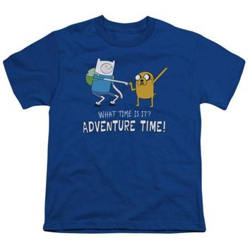 Adventure Time Fist Bump Youth T Shirt