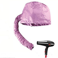 New Home Portable Soft Hood Bonnet Attachment Haircare Salon Hair Dryer [8833417804]