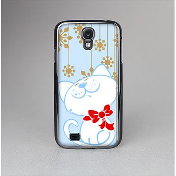 The Happy Winter Cartoon Cat Skin-Sert Case for the Samsung Galaxy S4