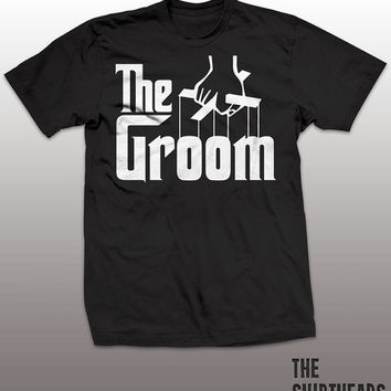 Awesome Groom T-shirt - bachelor party gift, wedding party, bride, groom, the godfather, mens, stag, present, marriage