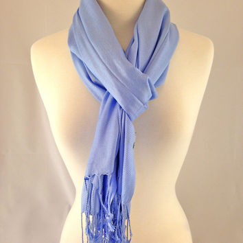 Heavenly Blue Pashmina