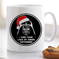 Dart Vader as Santa Christmas Gift Mug for Mug / Cup