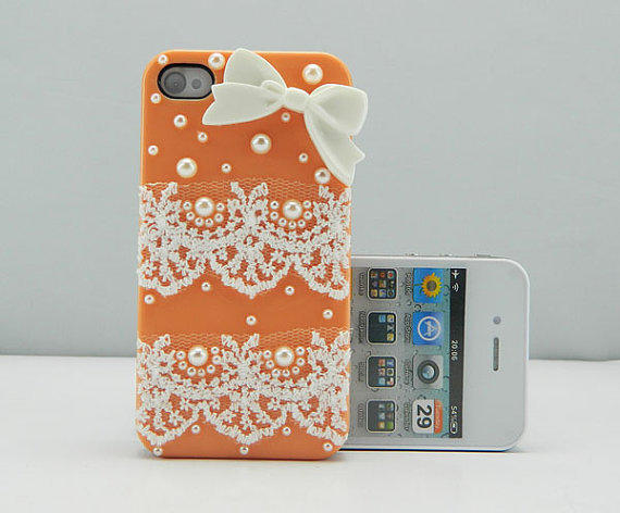 Lace Style iPhone case iPhone 4 case iPhone 4s case iPhone cover Multiple color choices Listing Stats