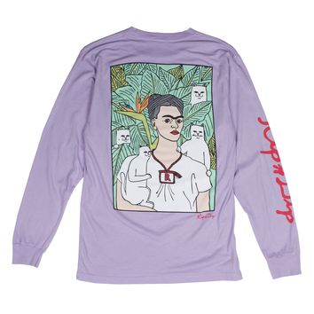 Nermal Portrait L/S (Powder Purple)