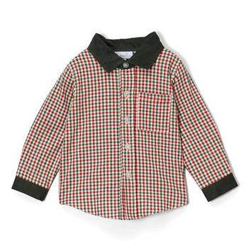 Red & Green Gingham Top - Infant & Toddler