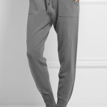 Eres - Morning wool and cashmere-blend track pants