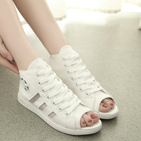 womens open-toed shoes summer