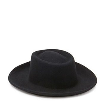 Wool Boater Hat