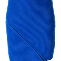 Opening Ceremony ribbed zip detail skirt