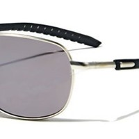 Aviator Sunglasses AV35 Flash Mirror Lens Adjustable Arms