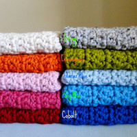Baby Blanket As Seen In Pregnancy and Newborn Magazine-Boy Girl-Choice of Many Colors