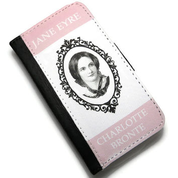 Jane Eyre, Charlotte Bronte Book Cover iPhone 4 4S & 5, 5S Case, Pink Case for iPhone, Phone Accessories