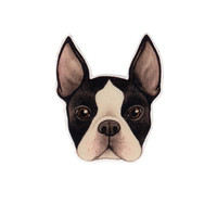 Boston Terrier Dog Magnet