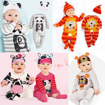 Top quality Baby Clothing  New Carters Original baby rompers baby jumpsuit cotton newborn clothes