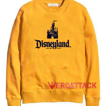 Disneyland gold yellow Unisex Sweatshirts