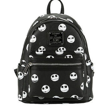 Loungefly The Nightmare Before Christmas Expressions Mini Backpack
