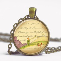 Pendant with Chain - Little Prince - with the Fox