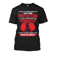 Fairy Tail - If they stand against you show no mercy -Men Short Sleeve T Shirt - SSID2016