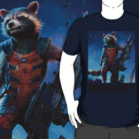 Guardians of the galaxy, rocket raccoon design