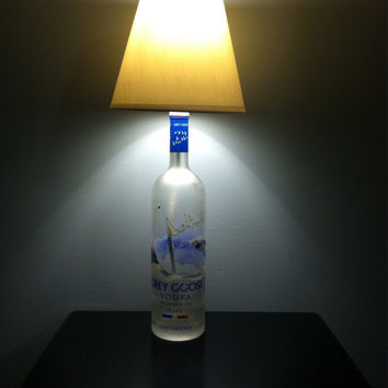 Grey Goose Vodka Lamp