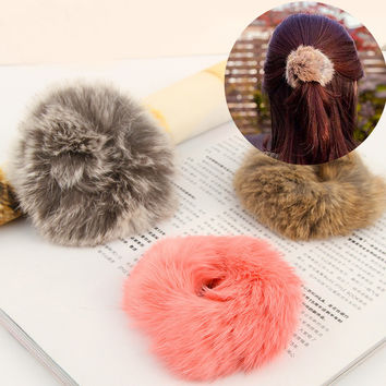 Solid Headwear For Women Hair Accessories