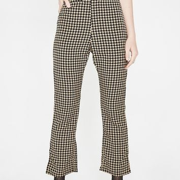 Bookworm Houndstooth Trousers