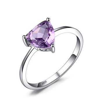 JewelryPalace Birthstone Ring Pure 925 Sterling Silver