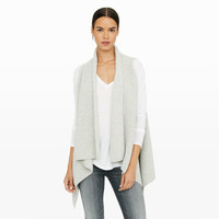 Karthik Sweater Vest - Wraps and Ponchos Sweaters at Club Monaco