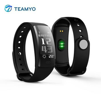 Teamyo Waterproof Smart bracelet watch Blood Pressure