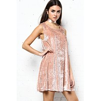 BB Dakota Astell Crushed Velvet Dress