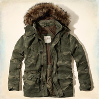 Little Harbor Sherpa-Lined Parka