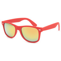 Blue Crown Rubber Classic Sunglasses Red One Size For Men 23907730001