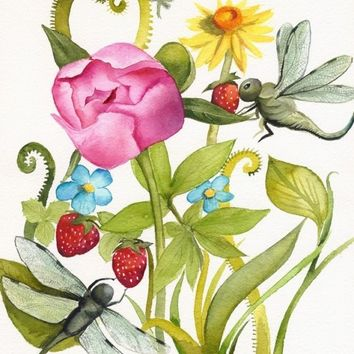 Garden- botanical art