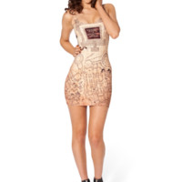 Marauders Map Inside Dress