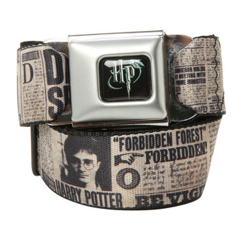 Harry Potter Undesirable No. 1 Seat Belt Belt
