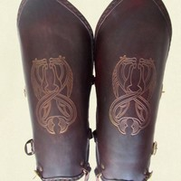 Greaves – Twin horse emboss