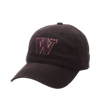 Licensed Washington Huskies Official NCAA Scholar Small Hat Cap by Zephyr 289396 KO_19_1