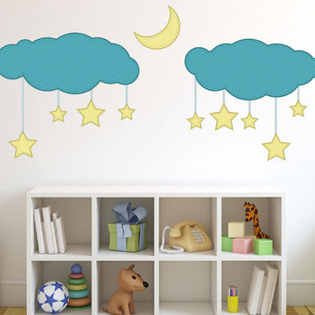 Nursery wall decal - Dreamy Stars