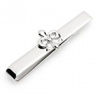 Fleur De Lis Tie Bar | - Men's Jewelry - Jewelry & Gifts