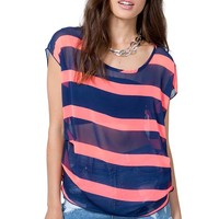 Hot Stripe Tee