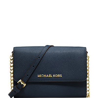 Michael Michael Kors Jet Set Saffiano Leather Crossbody