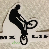 BMX Life STICKER vibes