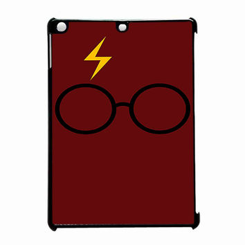 Harry Potter Glasses And Lightning Bolt iPad Air Case